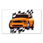 Mustang 2005 - 2009 Rectangle Sticker