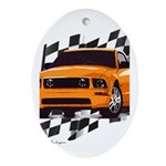 Mustang 2005 - 2009 Oval Ornament