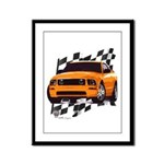 Mustang 2005 - 2009 Framed Panel Print