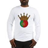 King Of Portugal Long Sleeve T-Shirt
