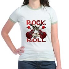 Rock N' Roll 4 Ever Rose Leaf T