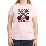 Rock N' Roll 4 Ever Rose Leaf T-Shirt