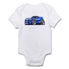 Viper GTS Blue Car Infant Bodysuit
