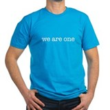 We Are One Men's Fitted Tee (Green or Black)