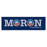 Moron Bumper Sticker (50 pk)