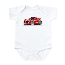 Viper GTS Red Car Infant Bodysuit