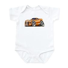 Viper GTS Orange Car Infant Bodysuit