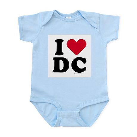 I Love DC ~ Infant Creeper