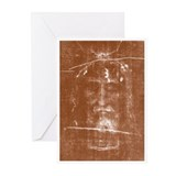 Shroud of turin Greeting Cards (20 Pack)