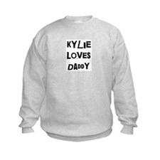Kylie loves daddy Jumpers