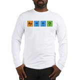 Au H2 O (Goldwater) Long Sleeve T-Shirt