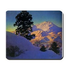 Winter in New Hampshire Mousepad