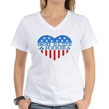 God Bless America Heart Shirt