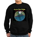 2012 Annular Solar Eclipse Sweatshirt (dark)