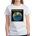 2012 Annular Solar Eclipse Women's T-Shirt