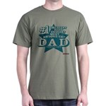 #1 Dad Dark T-Shirt