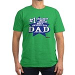 Greatest Coolest DAD Men's Fitted T-Shirt (dark)