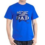 Greatest Coolest DAD Dark T-Shirt
