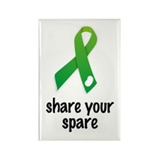 Cute Organ donor Rectangle Magnet (100 pack)