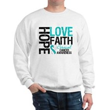 Cervical Cancer FAITH Sweatshirt