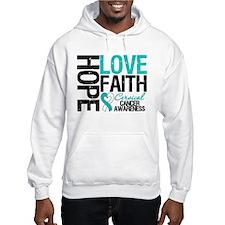 Cervical Cancer FAITH Hoodie
