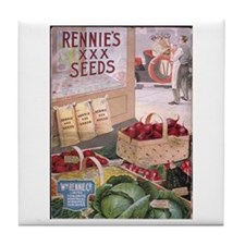 Rennie's XXX Seeds Tile Coaster
