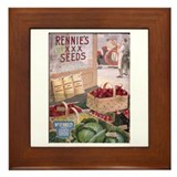 Rennie's XXX Seeds Framed Tile