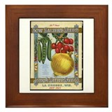 Sow Salzer's Seeds Framed Tile