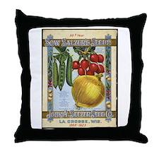 Sow Salzer's Seeds Throw Pillow