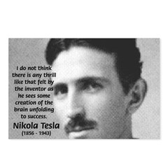 Nikola Tesla Postcards (Package of 8)