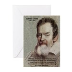 Error of Conformity Galileo Greeting Cards (Packag