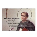 Theology Thomas Aquinas Postcards (Package of 8)