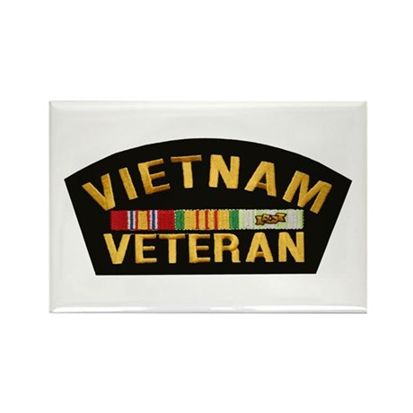 Vietnam Veteran Rectangle Magnet (10 pack)