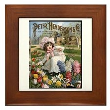 Peter Henderson 1901 Framed Tile