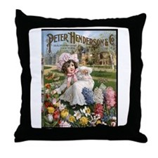 Peter Henderson 1901 Throw Pillow
