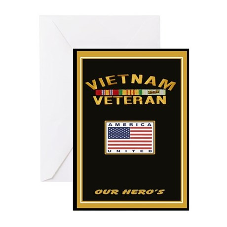 Vietnam Veteran Greeting Cards (Pk of 10)
