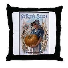 Rice's Seeds 3 Throw Pillow