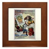 Rice's Seeds 2 Framed Tile