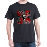 Red and black skull T-Shirt