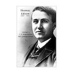 Inventor Thomas Edison: Sweat of Genius