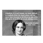 Novelist Charlotte Bronte Postcards (Package of 8)