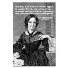Novelist Charlotte Bronte: Prejudice & Education