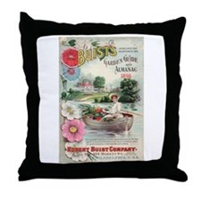 Robert Buist 1898 Throw Pillow