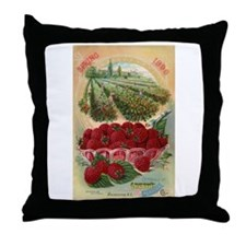 Green's Nursery Co. Throw Pillow