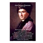 Jean Jacques Rousseau: Education Postcards (Packag
