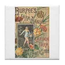 Burpee's Farm Tile Coaster