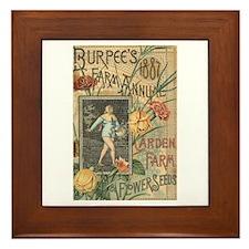 Burpee's Farm Framed Tile
