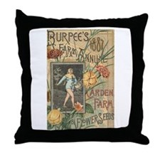 Burpee's Farm Throw Pillow