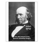 Herbert Spencer: Scientist of Evolution Posters