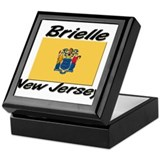 Brielle New Jersey Keepsake Box